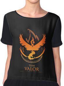 TEAM VALOR - T-Shirt / Phone Case / Mug / More Chiffon Top