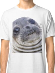 The Awkward Seal Classic T-Shirt