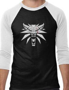 The White Wolf - The Witcher t-shirt / Phone case / Mug 2 Men's Baseball ¾ T-Shirt