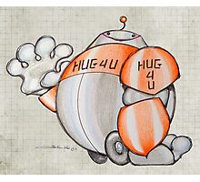 Hug 4 U Photographic Print