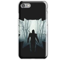 The White Wolf - The Witcher t-shirt / Phone case / Mug 1 iPhone Case/Skin