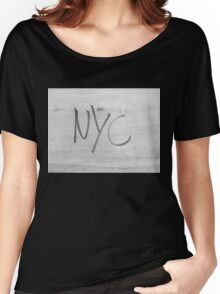 NYC Style bw NEW YORK CITY  Women's Relaxed Fit T-Shirt