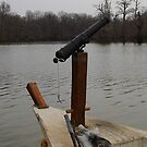 Cannon On The Keel Boat by WildestArt