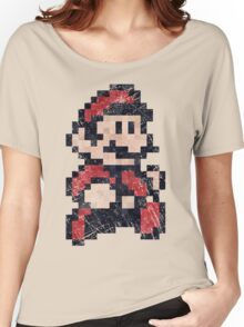 Super Mario Bros 3 Vintage Pixels Women's Relaxed Fit T-Shirt
