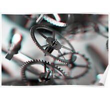 Exploding Clockwork #3 (3D) Poster