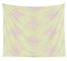 Abstract retro floral background  Wall Tapestry