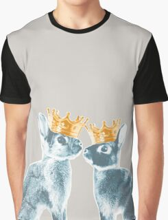 Britannia Elite - Blue | Britannia Petite Show Rabbit Bunny Fancy Rare Cute Royalty Crown King Queen Graphic T-Shirt