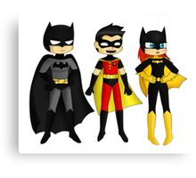 3Superheroes Canvas Print