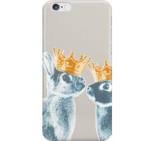 Britannia Elite - Blue | Britannia Petite Show Rabbit Bunny Fancy Rare Cute Royalty Crown King Queen iPhone Case/Skin