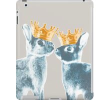 Britannia Elite - Blue   Britannia Petite Show Rabbit Bunny Fancy Rare Cute Royalty Crown King Queen iPad Case/Skin