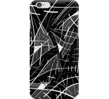 Gray abstraction iPhone Case/Skin