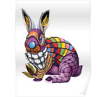 Steampunk Silly Rabbit Poster