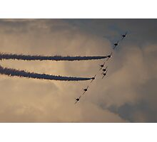 Sunderland Airshow 2016 (The Red Arrows) Photographic Print