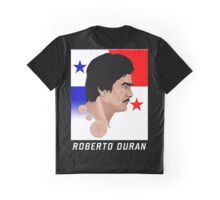 ROBERTO DURAN Graphic T-Shirt