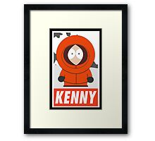 (CARTOON) Kenny Framed Print