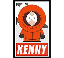 (CARTOON) Kenny Photographic Print