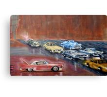 USA  CARS Canvas Print