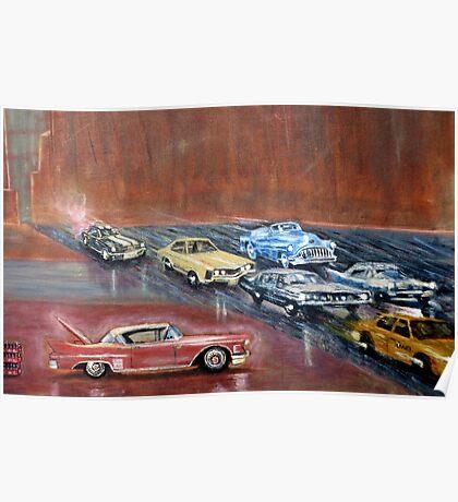 USA  CARS Poster