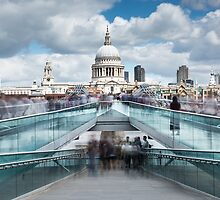Millennium Bridge by Svetlana Sewell