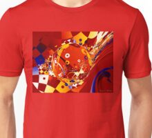 Colorful Crazy Abstract Unisex T-Shirt