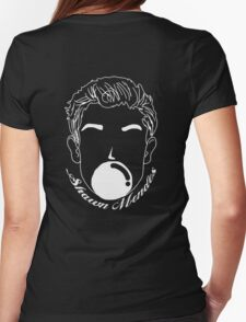 Balloon Mendes Illustration Womens Fitted T-Shirt