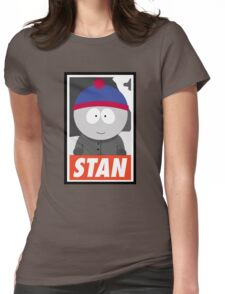 (CARTOON) Stan Womens Fitted T-Shirt