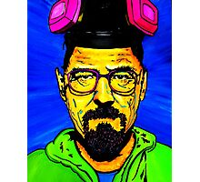 Walter White Pop Art Portrait Photographic Print