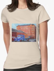 Gourock Ropeworks, Vintage Auston Lorry, Old Port Glasgow Womens Fitted T-Shirt