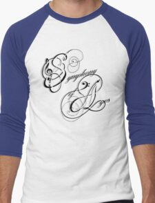 Symphony of Ages Men's Baseball ¾ T-Shirt