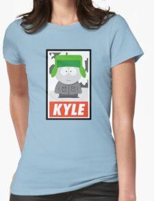 (CARTOON) Kyle Womens Fitted T-Shirt