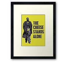 Omar Little - The Cheese Stands Alone Framed Print