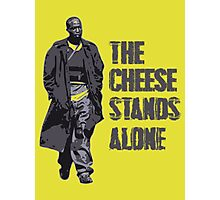 Omar Little - The Cheese Stands Alone Photographic Print