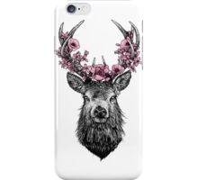 Stag with Blossom iPhone Case/Skin
