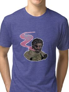 Venom Snake Diamond Dog Tri-blend T-Shirt