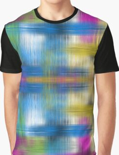 Neon Watercolor Wash Abstract  Graphic T-Shirt