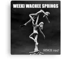 Weeki Wachee Springs Florida Canvas Print