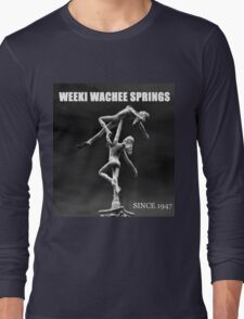 Weeki Wachee Springs Florida Long Sleeve T-Shirt