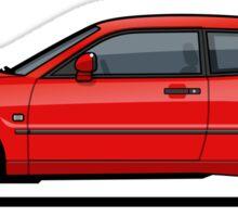 VW Corrado G60 Red Sticker