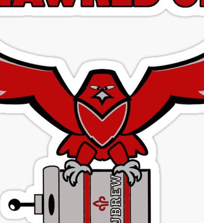 SJU Brewer Hawk Sticker