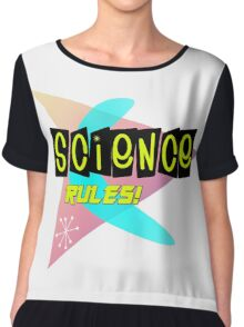 Science Rules! Chiffon Top
