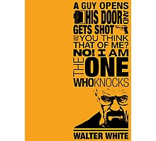 Walter Knocks Photographic Print