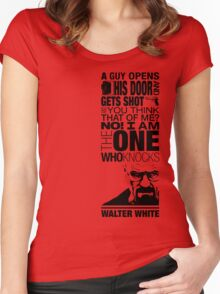 Walter Knocks Women's Fitted Scoop T-Shirt