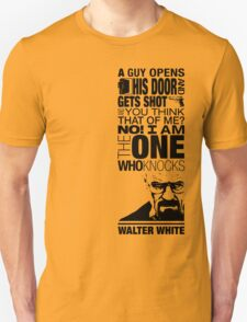Walter Knocks Unisex T-Shirt