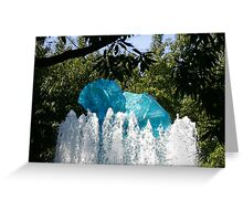 Chihuly Ice 5 Greeting Card
