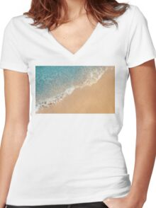 TRANQUIL Women's Fitted V-Neck T-Shirt