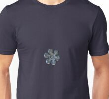 Snowflake photo - Massive silver Unisex T-Shirt