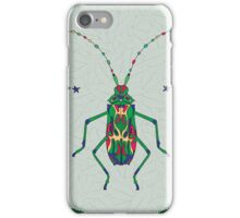 Green Insect Design iPhone Case/Skin