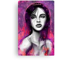 litle queen Canvas Print