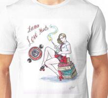 Luna Love Hurts-Demolition City Roller Derby Unisex T-Shirt