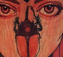 Red Trinity  Sticker